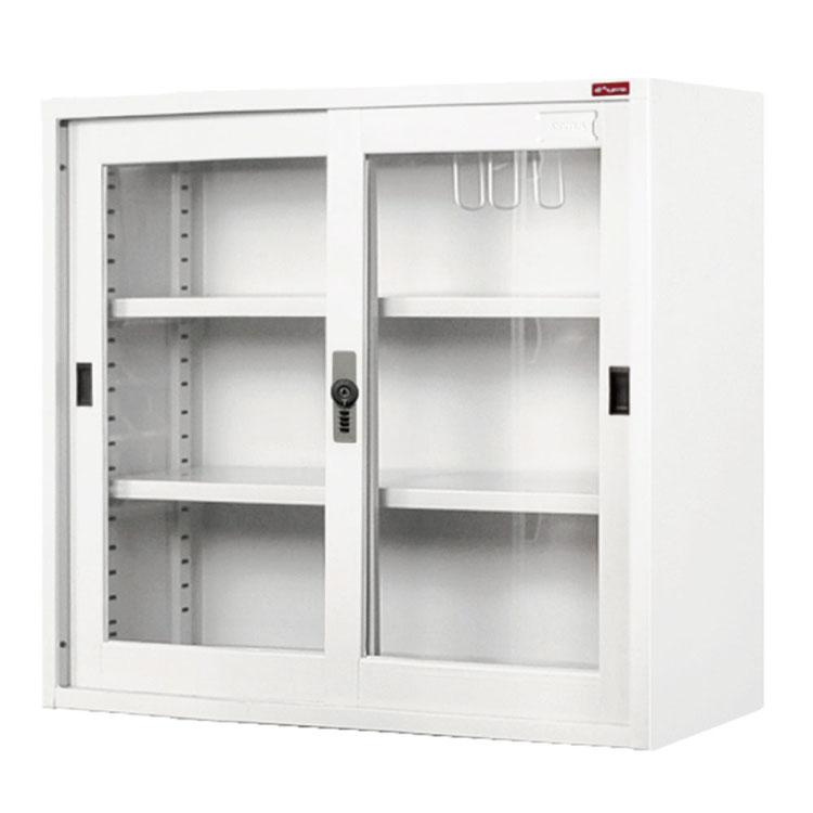 A4ファイリングキャビネット ホワイト DU-88G送料無料 チェスト キャビネット 書類 整理 整頓 書棚 オフィス 鉄製 ファイル 収納 【D】