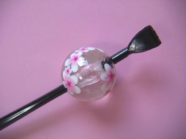 完売 Cool Japan 日本製 クリスタル調 京の玉かんざし 玉簪 期間限定特価品