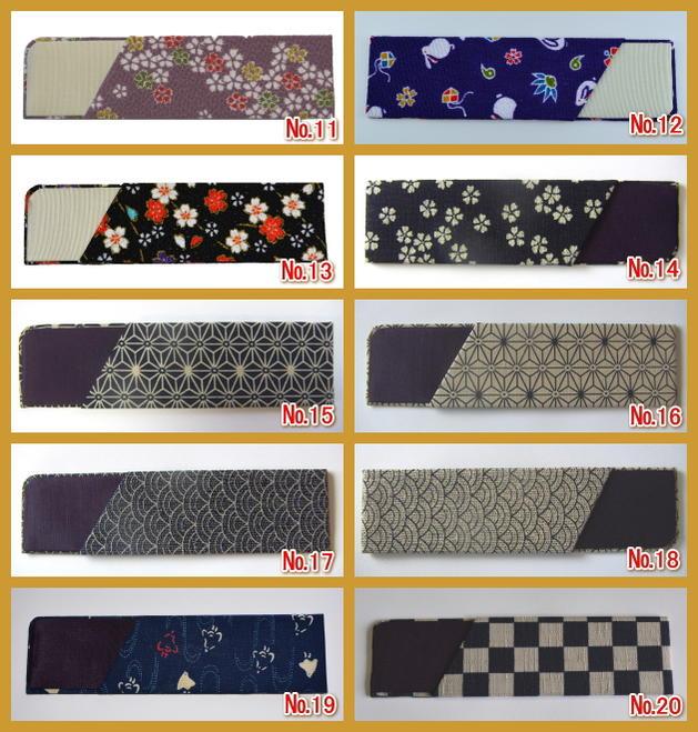 日本製「櫛ケース」手付き櫛専用(大切なつげ櫛を優しく包む・・・)※櫛ケース単品です