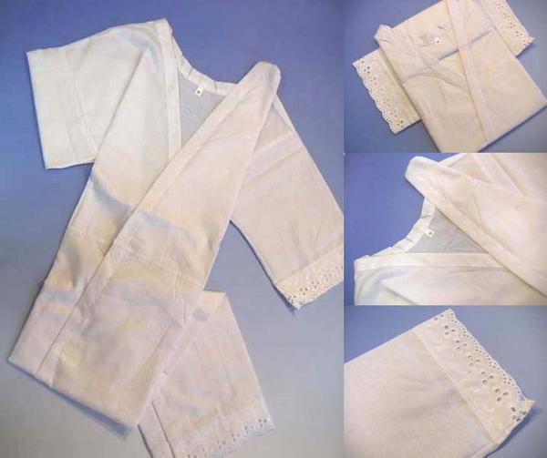Kimono slip (S, M, L, LL) one piece Albert Museum / 裾よけ (courier-mail is paid)