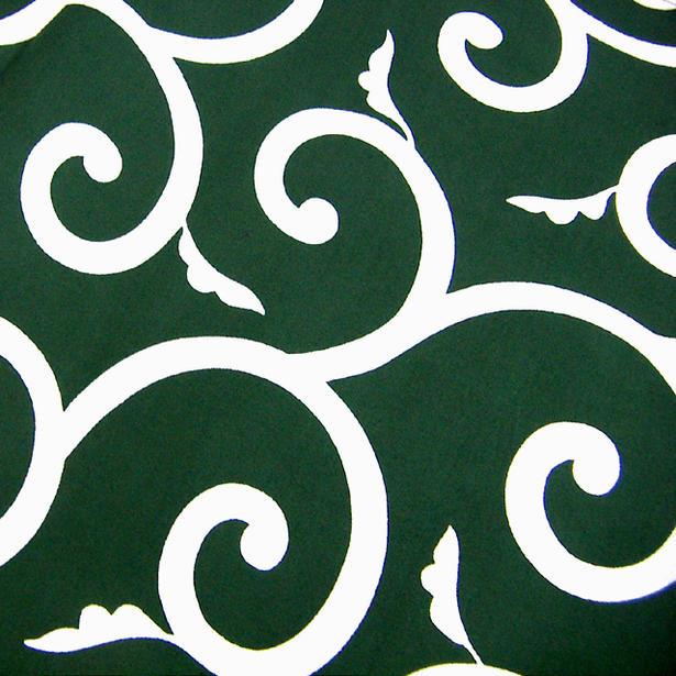 公式 特製純綿 風呂敷 ふろしき 新品未使用正規品 伝統の柄 唐草風呂敷特大判 緑 7巾:230×230cm