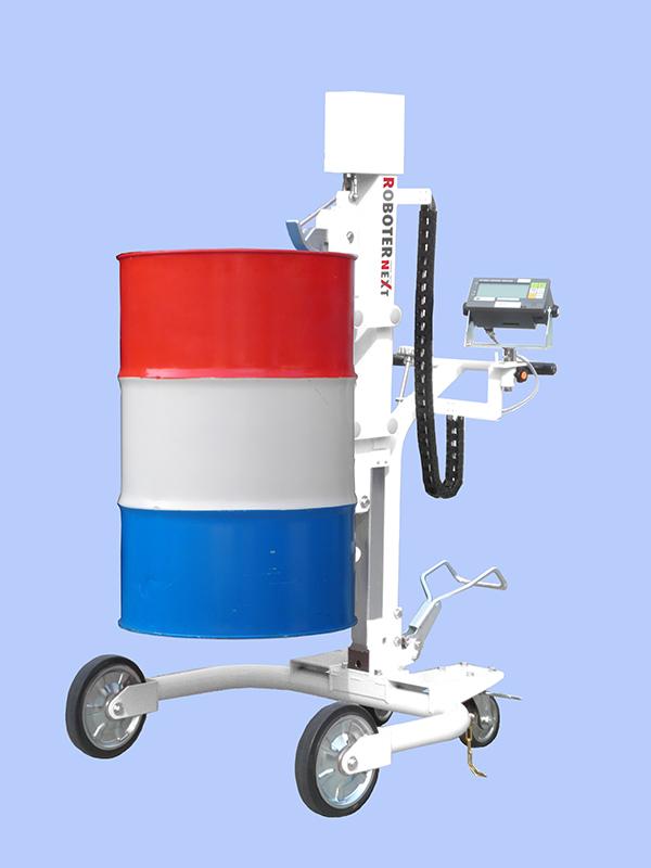 ドラム缶ハンドリング ロボッター(計量器付) RXL-3