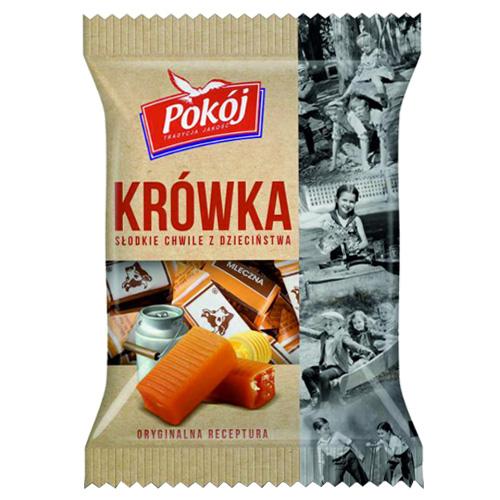 ミルクたっぷりポーランド伝統菓子 大放出セール ソフトで優しい食感☆ ポコジ クルフカ ミルクファッジ トラディショナル POKOJ KROWKA ファッジ 正規品 TRADITIONAL 10P04Mar17 ミルク FUDGE あす楽対応 MILK