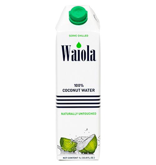 【送料無料】ワイオラ ココナッツウォーター 100% 1L×12本【あす楽対応】【ココナツジュース タイ産】【ココナッツウォーター 激安】【100% coconut water】