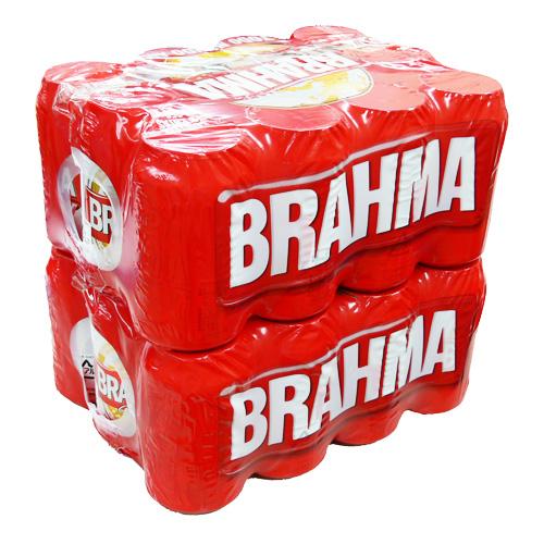 【送料無料】ブラーマ チョップ(BRAHMA CHOPP) 缶ビール 350ml×24本セット【あす楽対応】【CERVEJA PILSEN BRAHMA】【ブラジル産 ビール おすすめ】【ブラジル ブラマ ビール 激安】