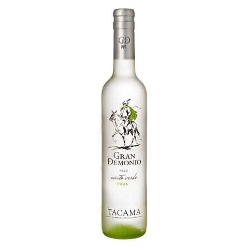 中南米最古の老舗ワイナリー 割り引き TACAMA 通常のピスコの約5倍のブドウを使用するプレミアムピスコ度数の強さを感じさせないスムースな口当たり ピスコ モストベルデ グランデモニオ イタリア 500m pisco mosto verdel お酒 洋酒 種類 ギフト ブランデー 在庫限り ペルー おすすめ お土産 あす楽対応 タカマ スピリッツ