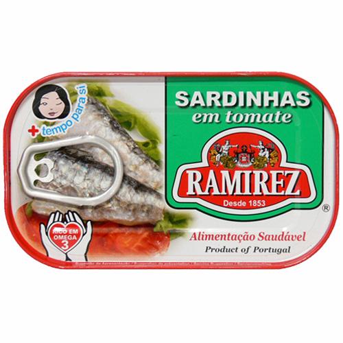 サルジンニャス (イワシのトマトソース漬け) ラミレス 125g 【あす楽対応】