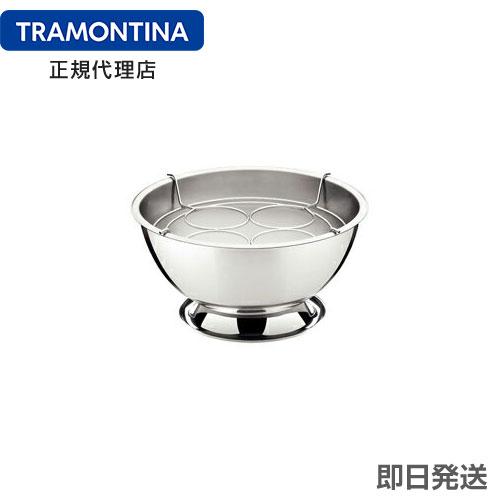 TRAMONTINA シャンパンクーラー(ワインクーラー) 4ボトル収容タイプ 18-10ステンレス製 サービス 【あす楽対応】 【楽ギフ_のし】