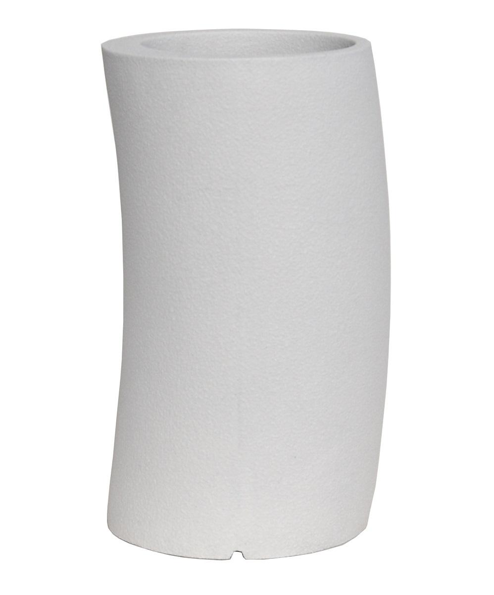 ファイバーグラス プランター [960-0017-1] カーブ33H型W 植木鉢 鉢カバー シンプル おしゃれ 大型 花 ガーデニング ※沖縄・離島への発送は不可となります※(サイズ 直径33.0×高さ60.5cm)