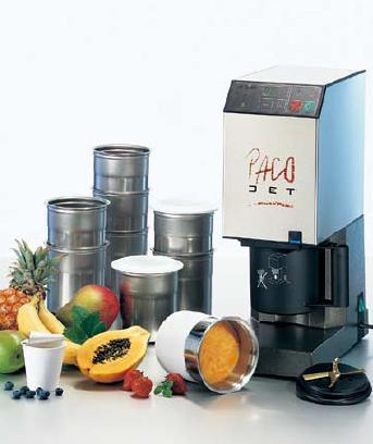 送料無用! デザートからメインディッシュ、和食まで多彩なメニューを瞬時に加工・調理! 凍結粉砕調理器 パコジェット PJ-1 (7-0610-0301)