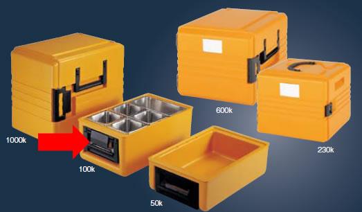 本物保証!  送料無料 冷・温蔵庫 冷・温蔵庫 送料無料 料理の温度や鮮度を維持しながら、保管・搬送! リーバサーモポート 100K(EBM18-1)(570-02), PourVous(プールヴー)ドレス通販:3be6b744 --- canoncity.azurewebsites.net