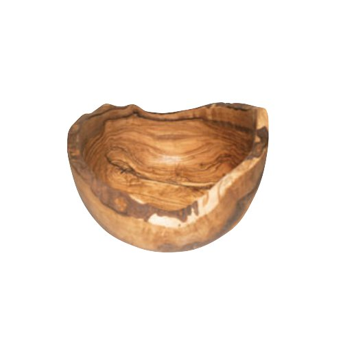 ドリス・オリーブ ラフティックフルーツボール [25cm]使いこむ程味わいが増す 上質な北アフリカ産の無塗装のラスティカルなキッチンウェア(EBM20-1)(1463-01)