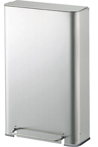 送料無料 汚物入れ・トイレ用ゴミ箱 サニタリーボックス ST-F9(容量約9L) (山崎産業)[DP-27L-SA] ペダル式で衛生的/女性用トイレに。ステンレス製でシンプルなごみ箱/スリム/内容器付/商業施設やオフィス向けの業務用 備品/ダストボックス トイレポット 蓋付