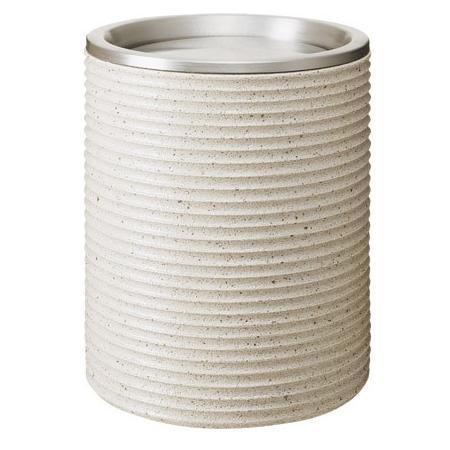 ※代引不可※受注生産品約1ヶ月 送料無料 ゴミ箱 屋外用 65L・陶磁器 ダストボックスポーセライン VM-500(大) (山崎産業)[YD-122C-YQ]