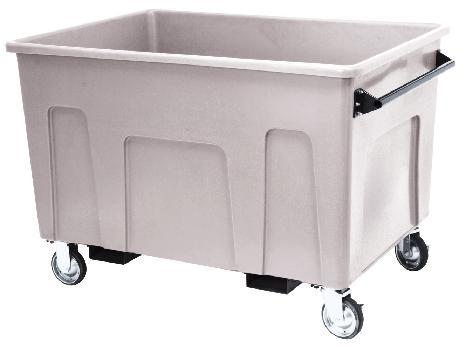 ※代引不可 送料無料 施設用品 ゴミ保管庫 建築現場・工場など 大型ダストカート#800 (容量約800L) (山崎産業)[YD-144L-PC]