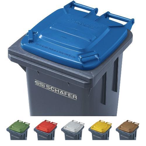 ※代引不可※受注生産品 送料無料 ゴミ保管庫 清掃用品・ゴミ箱・ペール ウェイストペールGMT-120 ※蓋カラータイプ 6色 (山崎産業)[YW-175L-PC]