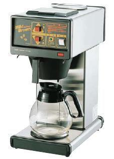 コーヒーメーカー 送料無料 1度に4~15杯分の抽出可能♪ 業務用コーヒーマシン マイルドブラウン CH-140 (7-0839-0701)