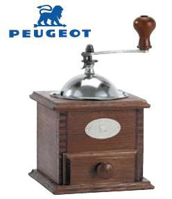 手動式コーヒーミル 送料無料 PEUGEOT プジョー ノスタルジー コーヒーミル (7-0856-0301)