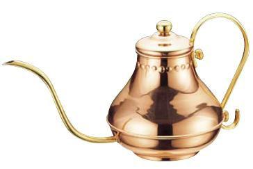 コーヒーポット 銅 アラジンコーヒーサーバー 5人用 900cc (7-0854-2301)
