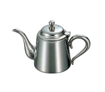 卓上用品 ティー・お茶・紅茶用品 ポット ステンレス製 UK18-8 M型ティーポット 5人用(500cc)(EBM18-1)(1075-03)