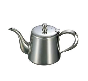 【卓上用品】【ティー・お茶・紅茶用品】【ポット】【ステンレス製】UK18-8 K型ティーポット 5人用(500cc)(EBM18-1)(1075-04)