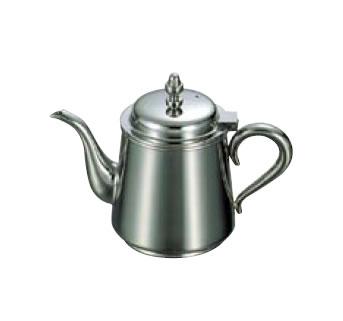 送料無料 卓上用品 ティー・お茶・紅茶用品 ポット ステンレス製 UK18-8 B渕ティーポット 3人用(450cc)(EBM19-1)(1123-02)