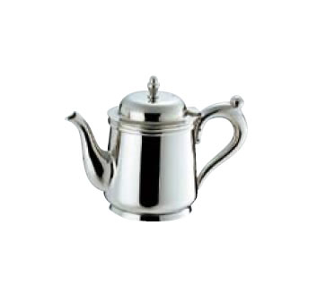 送料無料 卓上用品 ティー・お茶・紅茶用品 ポット ステンレス製 UW18-8 B渕ティーポット 5人用560cc(EBM18-1)(1075-07)