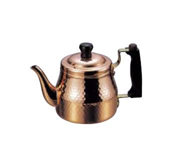 卓上用品 ティー・お茶・紅茶用品 ポット 銅製 銅 ティーポット S-2508 1100cc(EBM18-1)(1075-14)