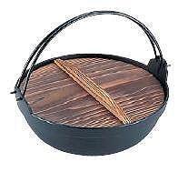 IH対応! いろり鍋26cm 季節鍋・よせ鍋 岩鋳 電磁用ふる里鍋 26cm (7-2013-1103)