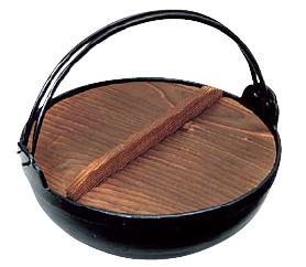! IH対応! いろり鍋21cm 季節鍋・よせ鍋 アルミ電磁用 いろり鍋 21cm (7-1511-0601)