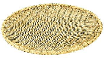 ざる 54cm 竹製 ためざる(佐渡製)54cm (6-0259-0704)