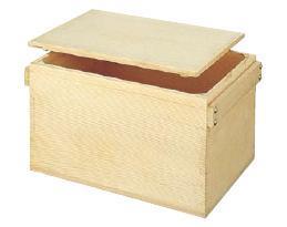 米びつ 角型おひつ (もみ) 5升用 (7-0276-0602)
