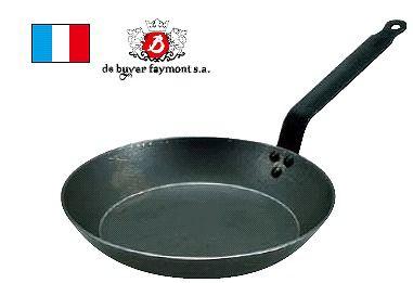 フライパン 送料無料 (冷めにくく、丈夫!) IH対応 45cm デバイヤー 鉄 フライパン 5110 45cm (6-0098-1011)