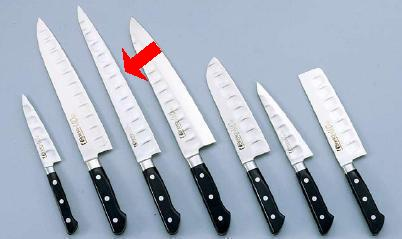 【包丁・ナイフ】【Brieto-M10PROシリーズ(ブライト M10 プロシリーズ) 包丁】筋引(両刃) M1013 24cm (6-0292-0301)