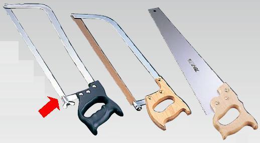 送料無料 包丁・ナイフ ヴォストフ 骨切ノコ弓型(ステンレス) 4710 刃49cm (7-0322-1901)