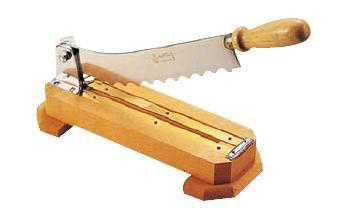 【送料無料】【包丁・ナイフ】マトファ フランスパンカッター 120062 刃35cm (6-0315-0302)