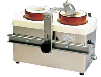 研ぎ器・砥ぎ器 水流循環式 電動刃物研機 ツインシャープナー MSE-2W型 (7-0334-0201)