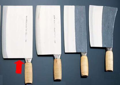 包丁・ナイフ 陳枝記 中華包丁 バーベキューチョッパー(焼猪刀2号) 244×130mm (7-0321-2801)