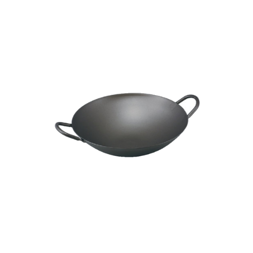 純チタン 共柄中華鍋 33cm カンダ(C1-0002-0302) 中華鍋 両手鍋 チタン made in 燕三条