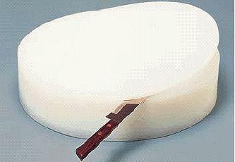まな板 送料無料 中華用:大・厚さ100mm 積層 プラスチック中華まな板 ★ (7-0354-0303)