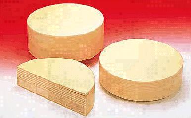 まな板 送料無料 中華用:35cm(Ф350)・厚さ150mm 抗菌性ラパーラ・中華まな板 MOR150-09(6-0342-0703)