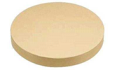 まな板 送料無料 中華用:40cm(Ф400)・厚さ50mm 中華用 抗菌プラまな板C12 (6-0342-0802)