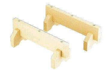 まな板小物 抗菌プラスチック まな板用脚(2ヶ1組)全長:40cm (6-0347-0501)