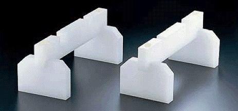 まな板小物 プラスチック まな板脚(スタンド兼用)(2ヶ1組)40cm (6-0347-0402)