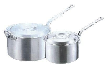 片手鍋 (ふた付き):27cm アルミDON片手深型鍋27cm (7-0033-0505)