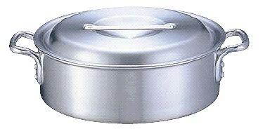 外輪鍋 送料無料 (ふた付き):51cm アルミDON外輪鍋51cm (6-0037-0312)