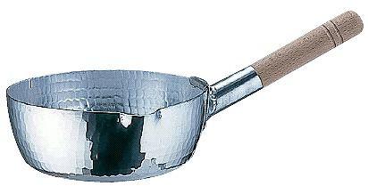 雪平鍋:22.5cm アルミ本職用 手打雪平鍋(3mm厚)22.5cm (6-0047-1006)