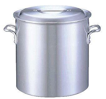 寸胴鍋 送料無料 (ふた付き):45cm アルミDON寸胴鍋45cm (6-0037-0110)