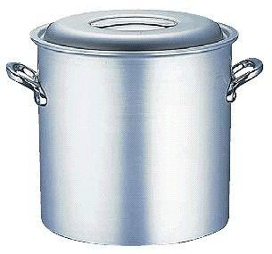 寸胴鍋 送料無料 (ふた付き):45cm アルミマイスター寸胴鍋45cm (6-0034-0110)