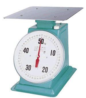 送料無料 ハカリ フジ 上皿自動ハカリデカO型(平皿付)ひょう量50kg (6-0541-0404)